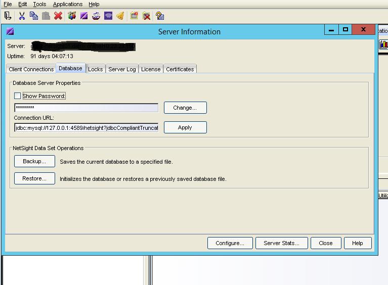 netsight_database